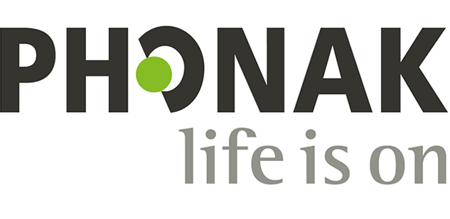 Phonak life is on logo